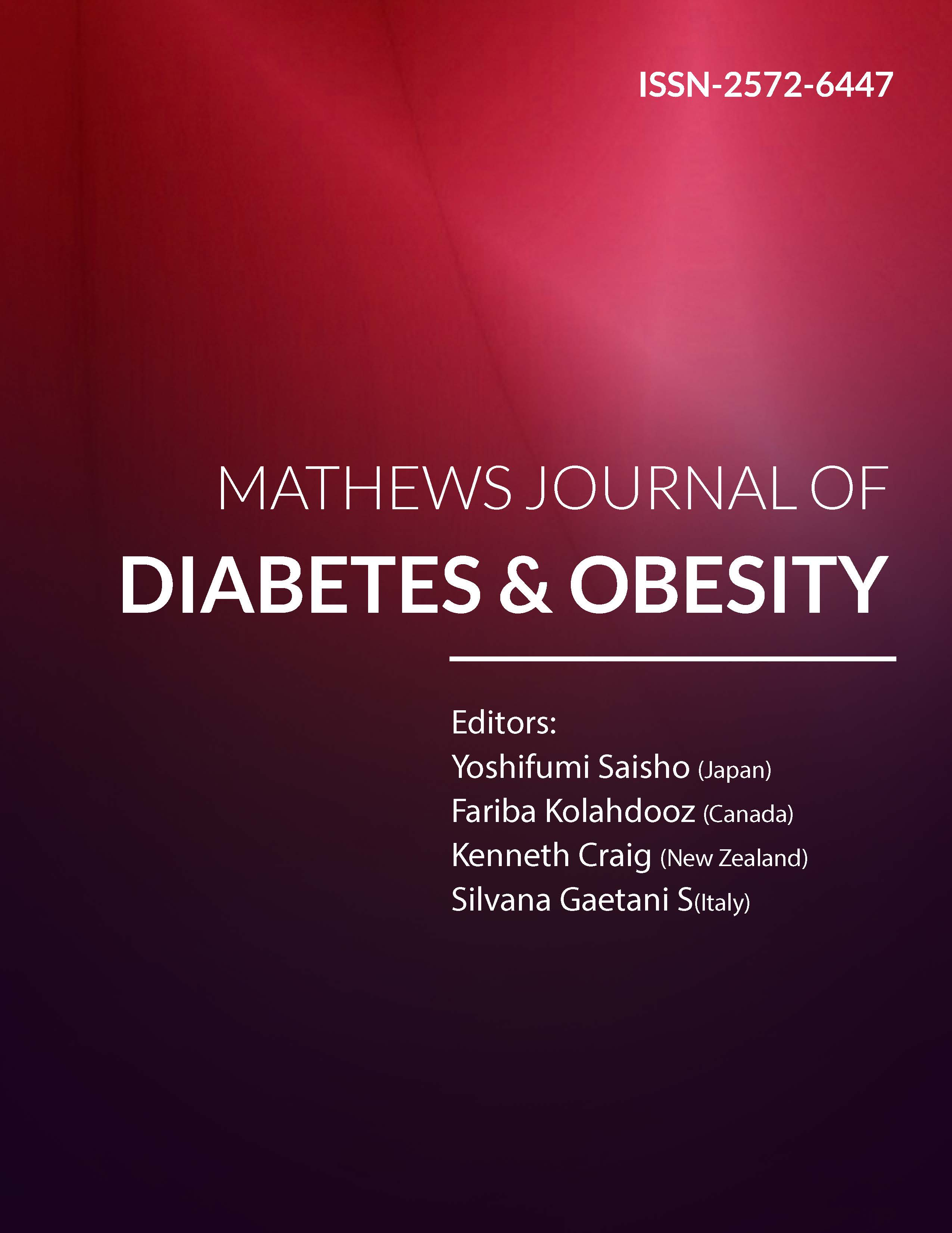 Mathews Journal of Diabetes & Obesity