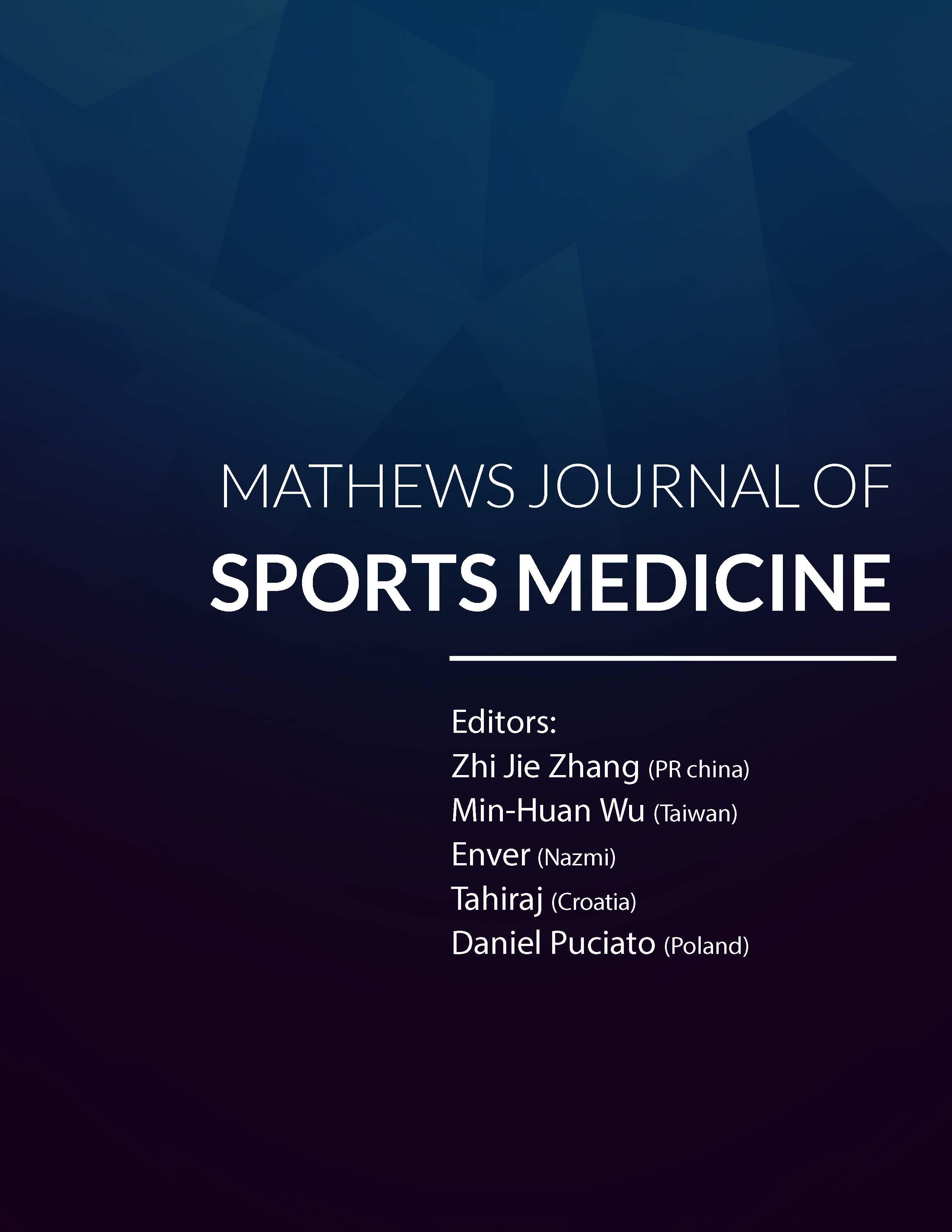 Mathews Journal of Sports Medicine