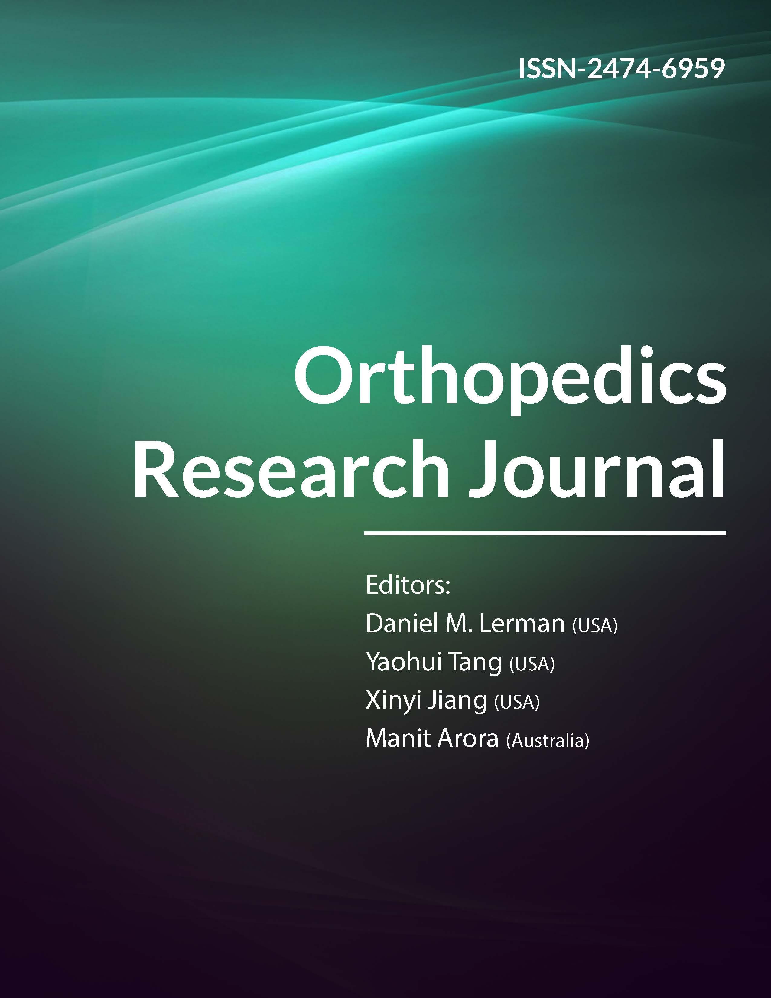 Orthopedics Research Journal